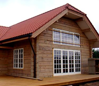 laftet hytte byggesett